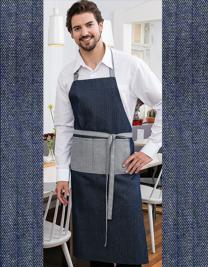 Jeans-Bib Apron 2-Colours 75 x 100 cm
